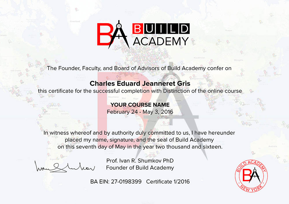course certificates and diploma programs by build academy and partners
