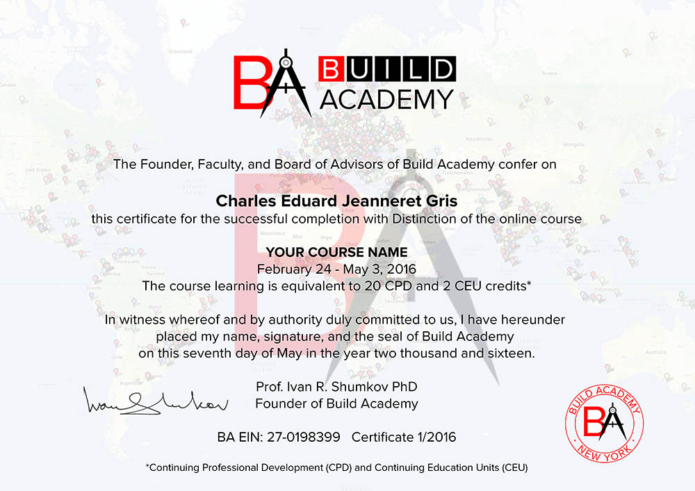 course certificates and diploma programs by build academy and partners. Black Bedroom Furniture Sets. Home Design Ideas